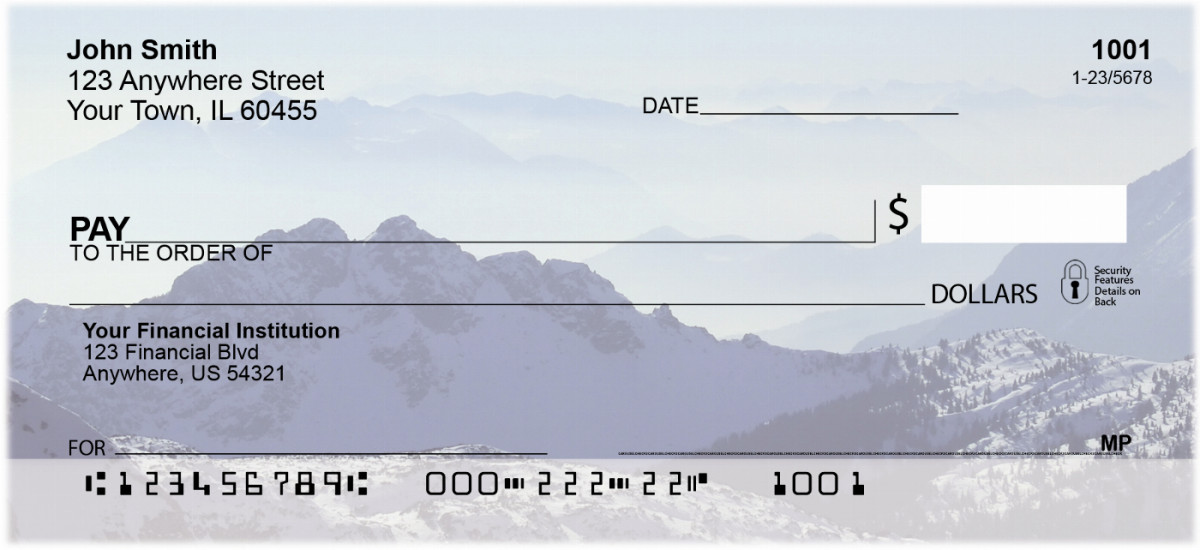 Mountain Views Checks