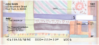 Quilt Inspired Americana Art Personal Checks | ABS-48