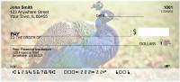 Peacock Plumes Personal Checks