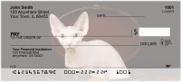 Hairless Sphynx Kittens Personal Checks | CAT-06