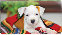 Pit Bull Pups Leather Cover