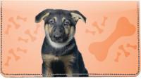 German Shepherd Pups Keith Kimberlin Leather Cover