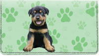 Rottweiler Pups Keith Kimberlin Leather Cover