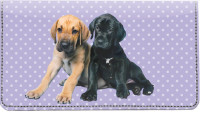 Great Dane Pups Keith Kimberlin Leather Cover