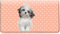Shih Tzu Pups Keith Kimberlin Leather Cover
