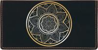 Mandala Engraved Leather Cover