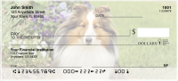 Shetland Sheepdog Personal Checks