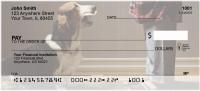 Basset Hound Personal Checks