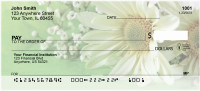 Daisies On Green Personal Checks | FLO-14