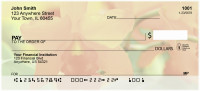 Tropical Orchids Personal Checks | FLO-34
