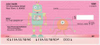 Robot Friends Personal Checks