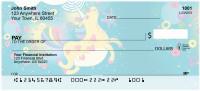 Cartoon Unicorns Personal Checks