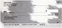 Cow Prints in Black and White Personal Checks | GEO-70