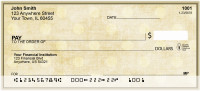 Vintage Dots Personal Checks | GEP-01