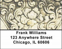 Asian Carvings Address Labels