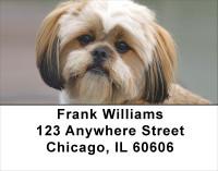 Lhasa Apso Puppy Address Labels