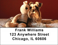 Snugly Schnauzer Address Labels
