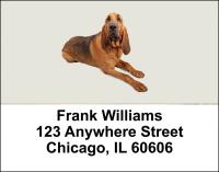 Blood Hound Address Labels