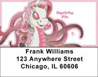 Pinks Mix - My Little Demon Address Labels