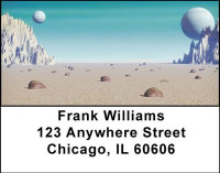 Planetary Views Address Labels