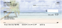 Palm Tree Paradise Personal Checks