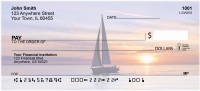 Sailboats At Sunrise Personal Checks | SCE-73