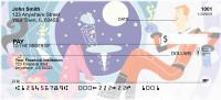 Retro Space Personal Checks