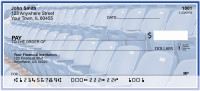 Blue & White Football Team Personal Checks | SPT-08