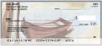 Canoe In Fall Personal Checks