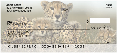 Big Cat Babies Personal Checks | ANI-15