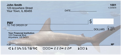 Shark Infested Waters Personal Checks | ANJ-64