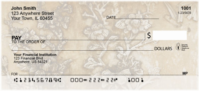 Asian Carvings Personal Checks | ASI-03