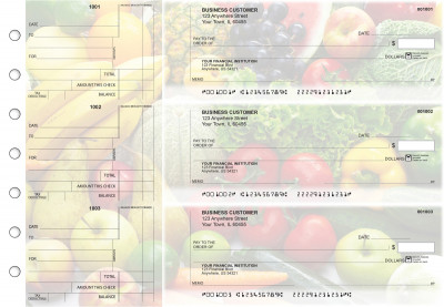 Fresh Produce Standard Counter Signature Business Checks | BU3-CDS09-SCS