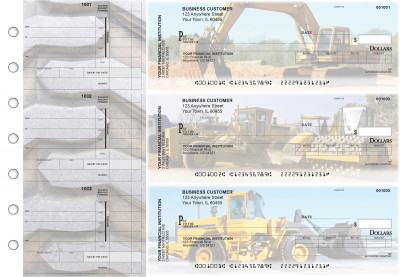 Construction Invoice Business Checks | BU3-CDS10-INV
