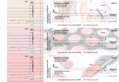 Makeup Invoice Business Checks | BU3-CDS12-INV