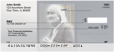 Mother Teresa Personal Checks | CHA-04