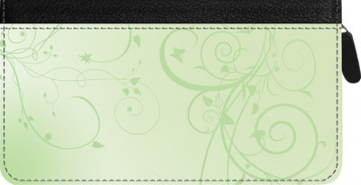Vine Zippered Checkbook Cover | CLZ-GEO10