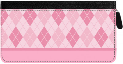 Argyle New Zippered Checkbook Cover | CLZ-GEO11C