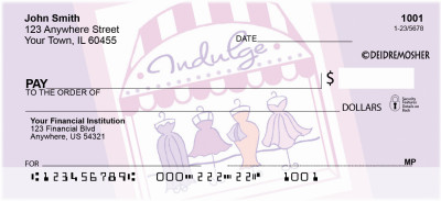 Indulge by Deidre Mosher Personal Checks | DMO-06