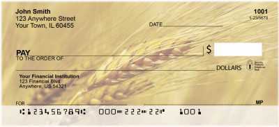 The Grain Harvest Personal Checks | FOD-06