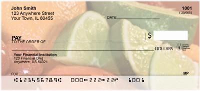 Luscious Fruits Personal Checks | FOD-39