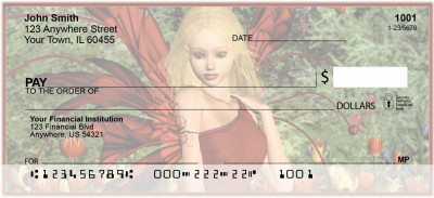 Fairy Fantasy Personal Checks | FUN-30