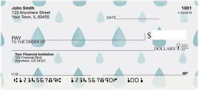 April Showers Personal Checks | GEP-005