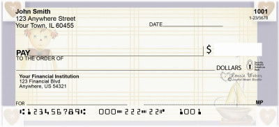 Raggedy Friends Personal Checks by Lorrie Weber | JHS-06