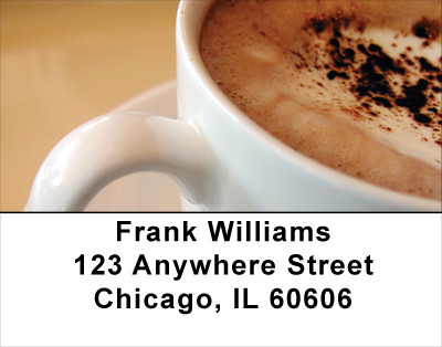 Coffee Break Address Labels | LBFOD-10