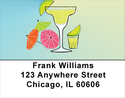 Coctails - Classic Favorites Address Labels | LBFOD-17