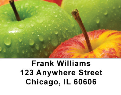 An Apple A Day Address Labels | LBFOD-18