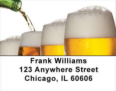 A Cold One Address Labels | LBFOD-23