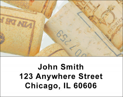 Popin Corks Address Labels | LBFOD-32