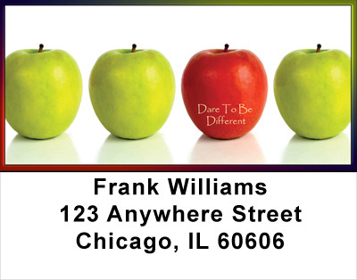 Dare To Be Different Address Labels | LBFOD-36